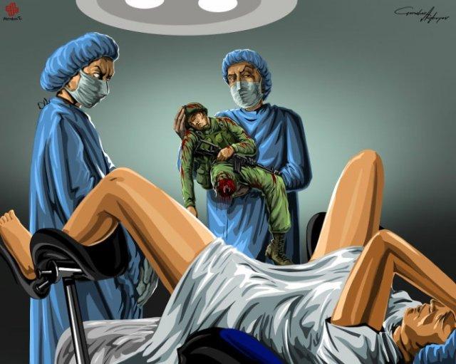 Nenorocirile lumii, in ilustratii satirice - Poza 4