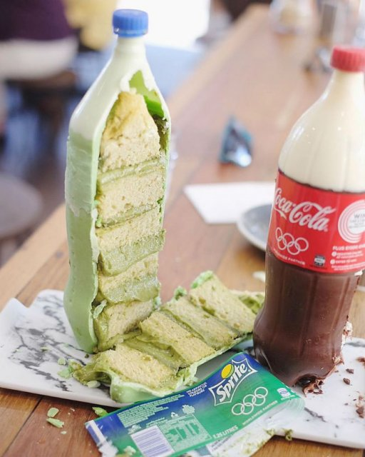 Noua moda in materie de prajituri: Sticle de suc delicioase - Poza 6