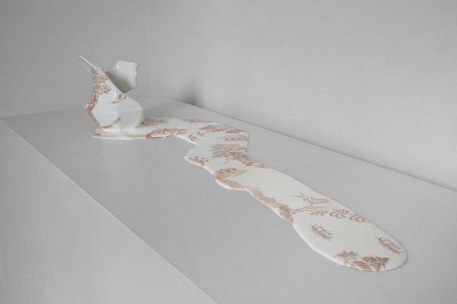 Balti de portelan: Piese din ceramica topite iscusit - Poza 4