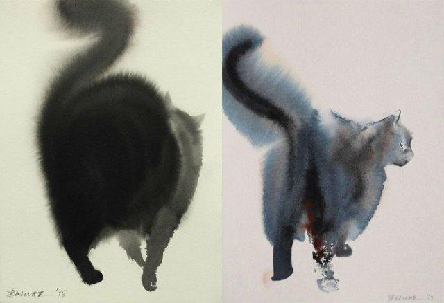 Pisici din cerneala, cu Endre Penovac - Poza 3