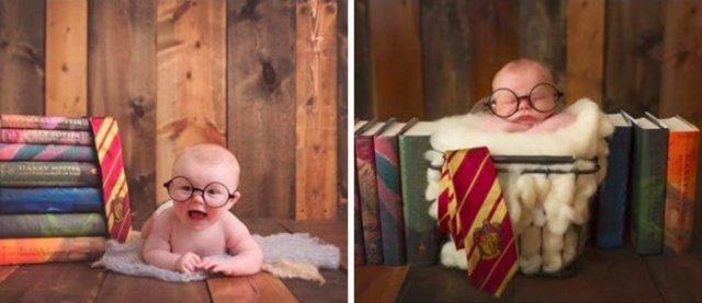 Harry Potter si cel mai fericit bebelus din lume - Poza 9