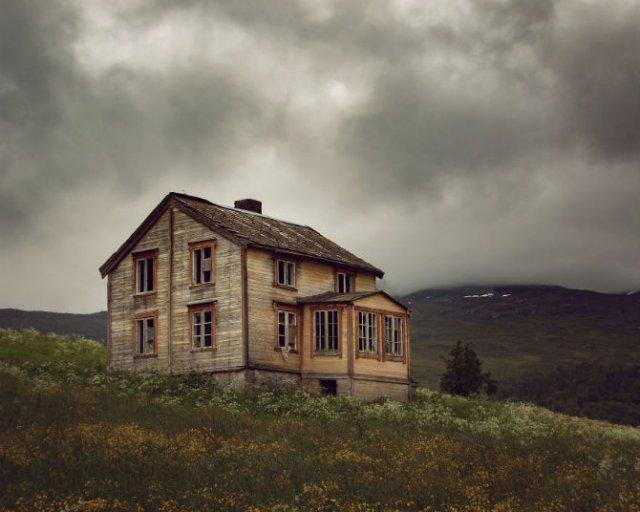 Frumusetea caselor abandonate de pe taramurile nordice - Poza 2