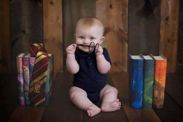 Harry Potter si cel mai fericit bebelus din lume - Poza 8