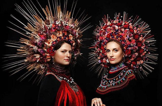 Frumusetea traditionala a femeilor ucrainiene - Poza 9