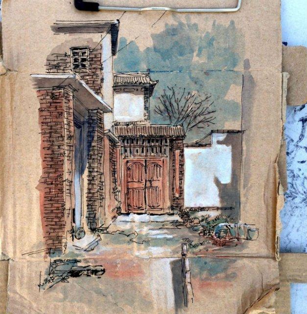 Ilustratii pe resturi de carton - Poza 13