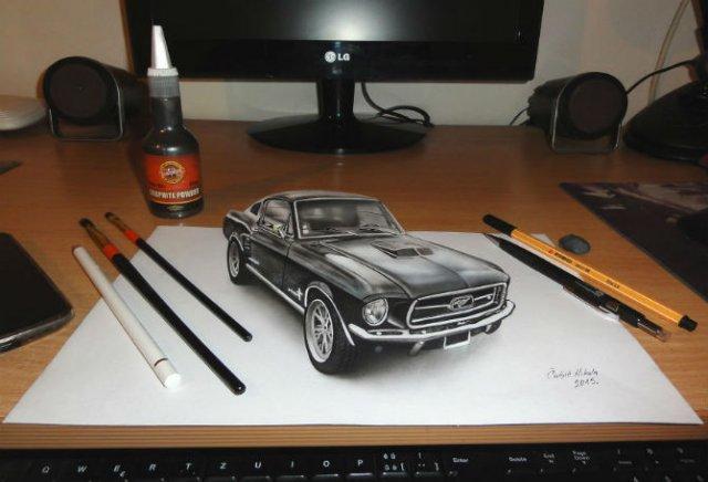 Desene 3D, pentru bruiajul privitorilor - Poza 7