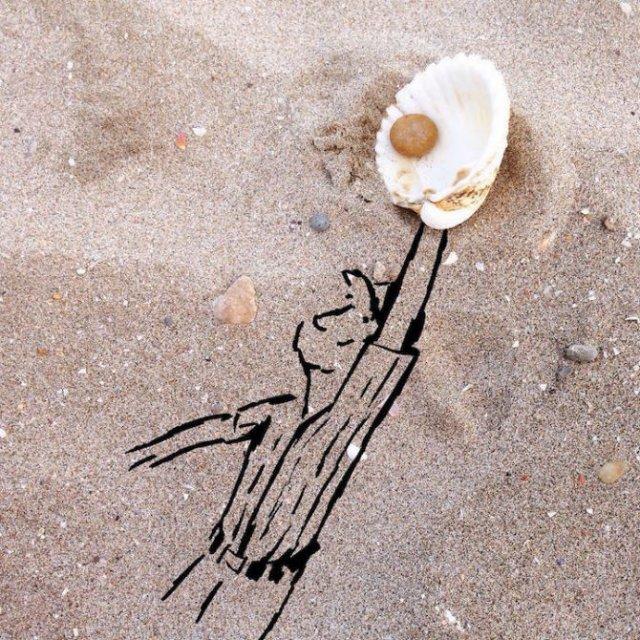 Obiecte banale transformate in ilustratii haioase - Poza 8