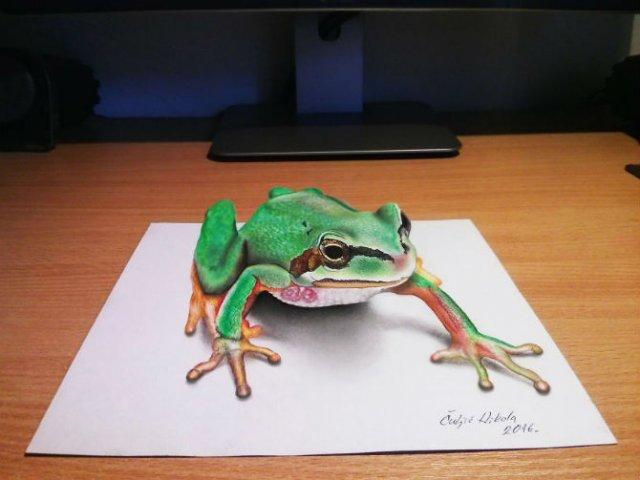Desene 3D, pentru bruiajul privitorilor - Poza 1