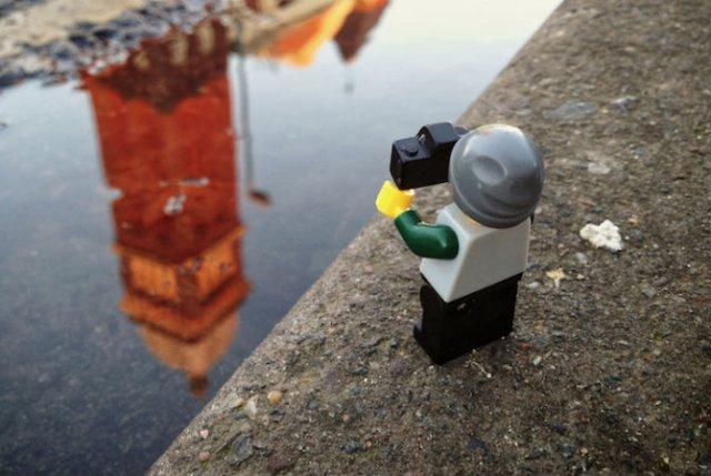 Aventurile unui omulet Lego prin Londra - Poza 4