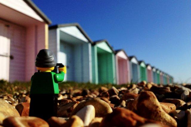 Aventurile unui omulet Lego prin Londra - Poza 8