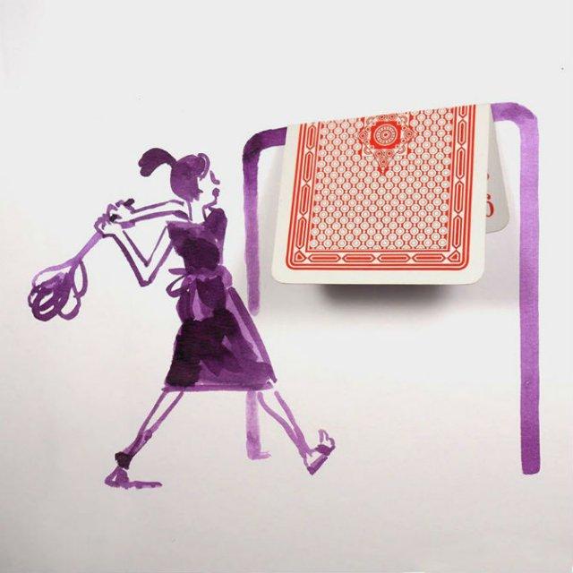 Compozitii artistice cu obiecte simple - Poza 18