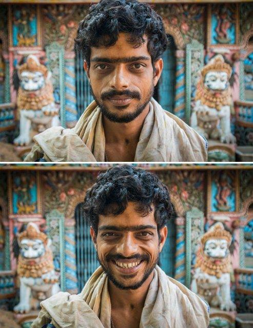 Zambete familiare pe chipuri straine - Poza 14