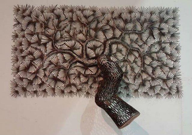 Arbori tesuti din metal, de Lee Gil Rae - Poza 9