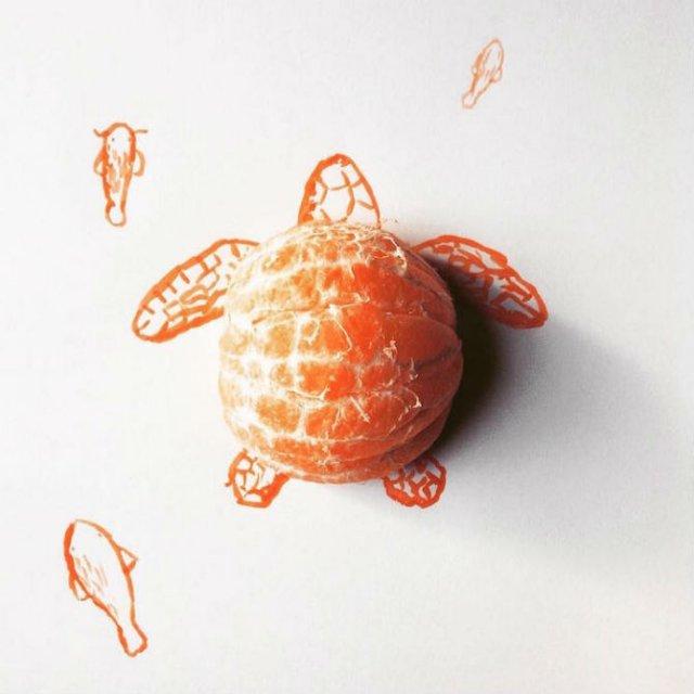 Obiecte banale transformate in ilustratii haioase - Poza 2