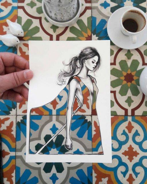 Moda cu nori si cladiri, de Shamekh Bluwi - Poza 9