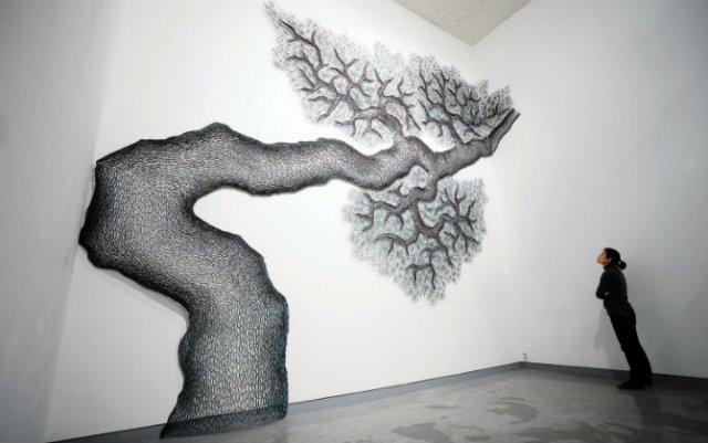 Arbori tesuti din metal, de Lee Gil Rae - Poza 1