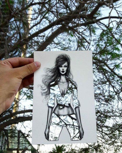 Moda cu nori si cladiri, de Shamekh Bluwi - Poza 8
