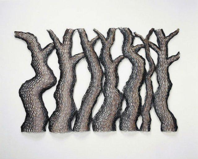 Arbori tesuti din metal, de Lee Gil Rae - Poza 2