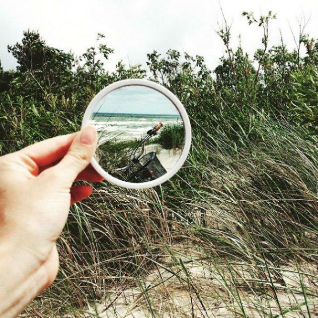 Lumea, vazuta printr-o oglinda