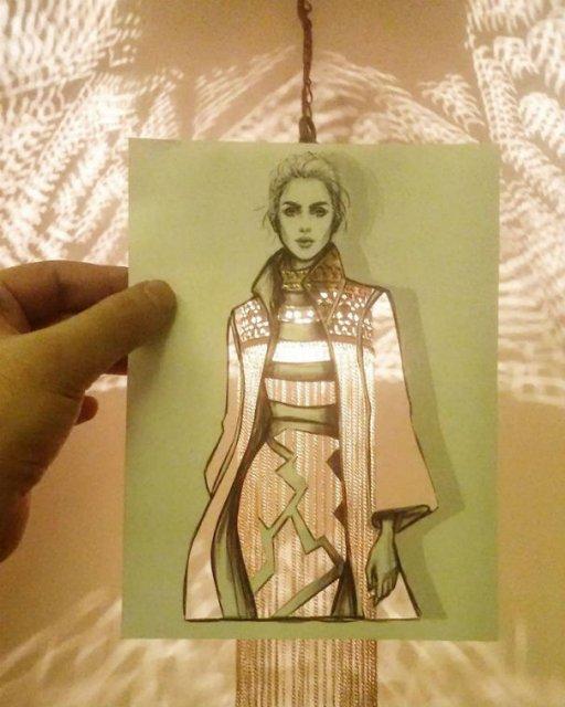 Moda cu nori si cladiri, de Shamekh Bluwi - Poza 7