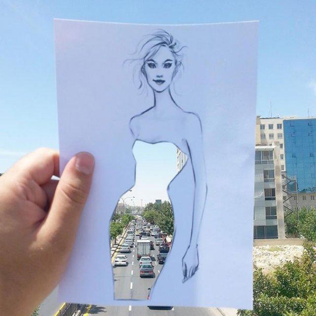 Moda cu nori si cladiri, de Shamekh Bluwi - Poza 4
