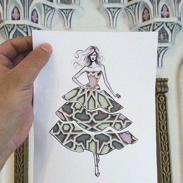 Moda cu nori si cladiri, de Shamekh Bluwi - Poza 5