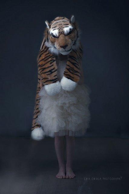 Animale si copilasi, intr-un pictorial superb - Poza 9