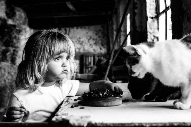 Animale si copilasi, intr-un pictorial superb - Poza 6