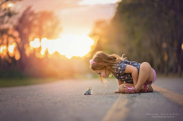 Animale si copilasi, intr-un pictorial superb - Poza 4