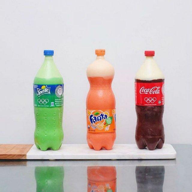 Noua moda in materie de prajituri: Sticle de suc delicioase - Poza 1