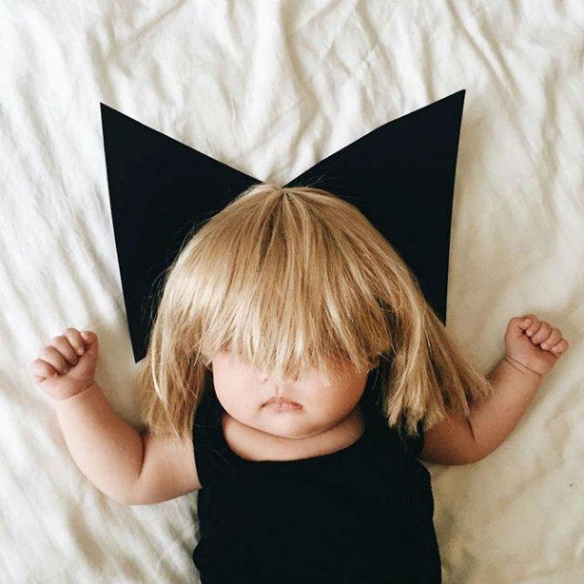 Cea mai dulce fetita, in costume haioase - Poza 8