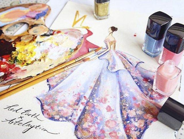 Fantezie si creativitate cu lac de unghii - Poza 8