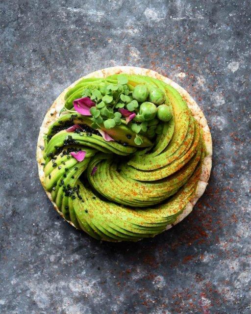 Deliciu vizual: Avocado, dus la nivelul de arta - Poza 1