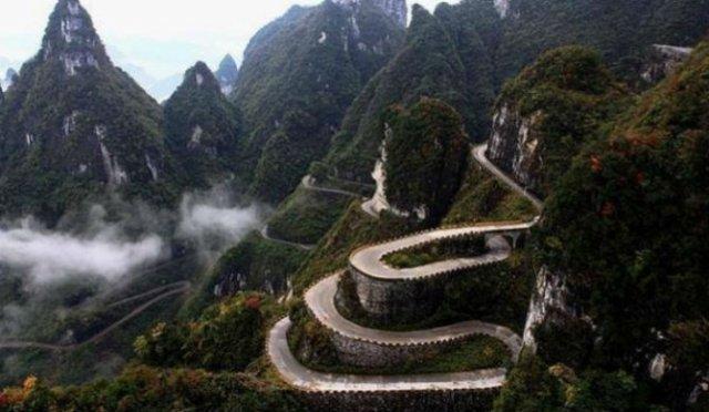 Drumuri uluitoare din jurul lumii