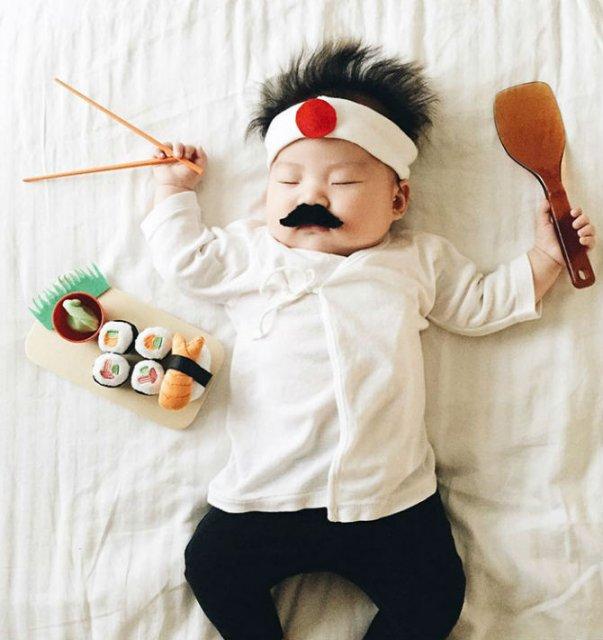Cea mai dulce fetita, in costume haioase - Poza 3