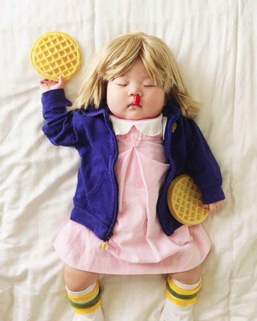 Cea mai dulce fetita, in costume haioase - Poza 6