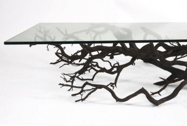 Rafturi din ramuri de copaci, cu Sebastian Errazuriz - Poza 1