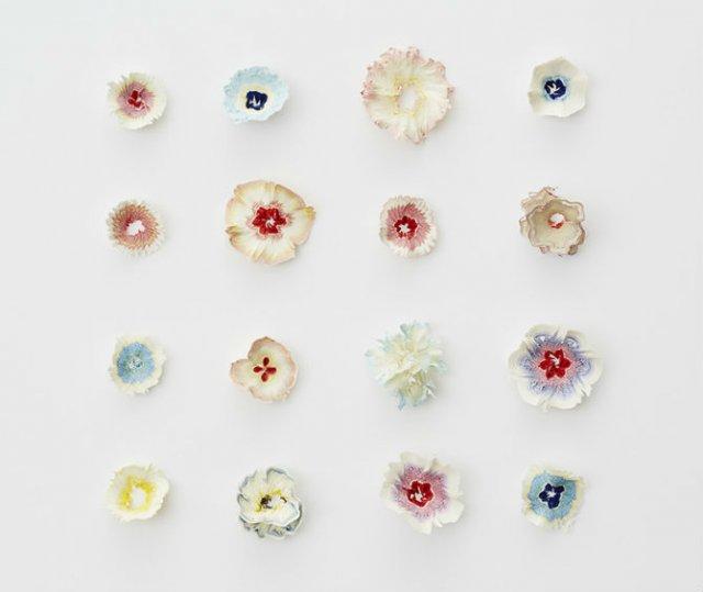 Flori multicolore din hartie, cu Haruka Misawa