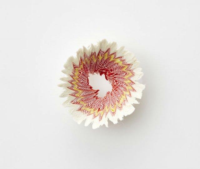 Flori multicolore din hartie, cu Haruka Misawa - Poza 6