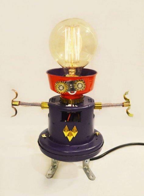 Cei mai simpatici roboti facuti din resturi - Poza 4