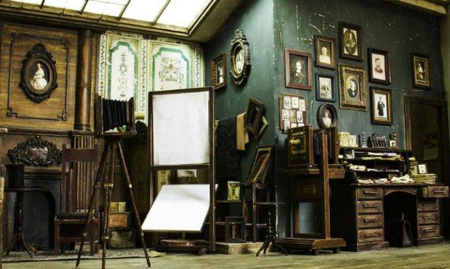 Miniatura unui studio fotografic din 1900 - Poza 16