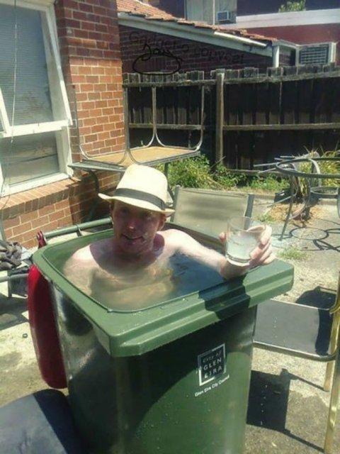 Cele mai trasnite piscine improvizate - Poza 2