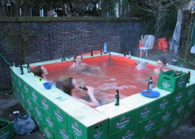 Cele mai trasnite piscine improvizate - Poza 8