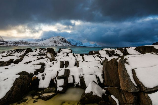Un strop din frumusetea Norvegiei, in poze uluitoare - Poza 8