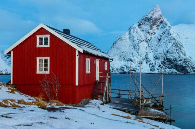 Un strop din frumusetea Norvegiei, in poze uluitoare - Poza 9