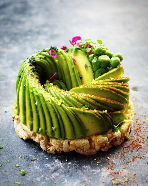 Deliciu vizual: Avocado, dus la nivelul de arta - Poza 2