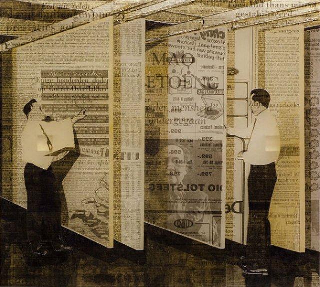 Colaje din ziare si carti, de Martijn Hesseling - Poza 7
