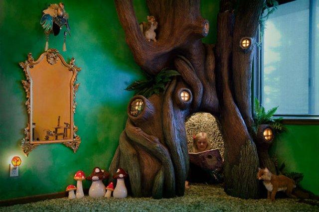 Camera inspirata din povestile cu zane - Poza 8