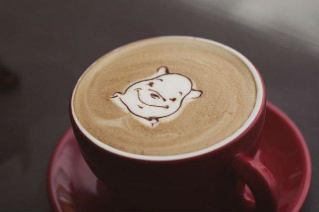 Bauturi pe baza de cafea frumos decorate - Poza 16