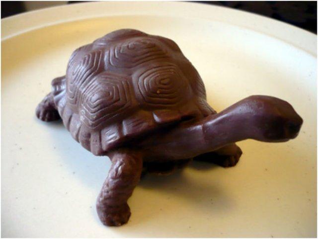 Arta, dulce arta: Creatii delicioase din ciocolata - Poza 12